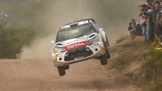 Kris Meeke in action in Argentina