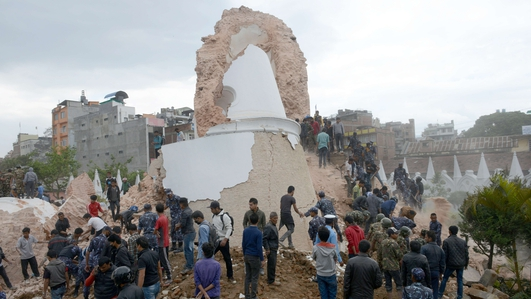 Antrim man gives his account of earthquake in Nepal
