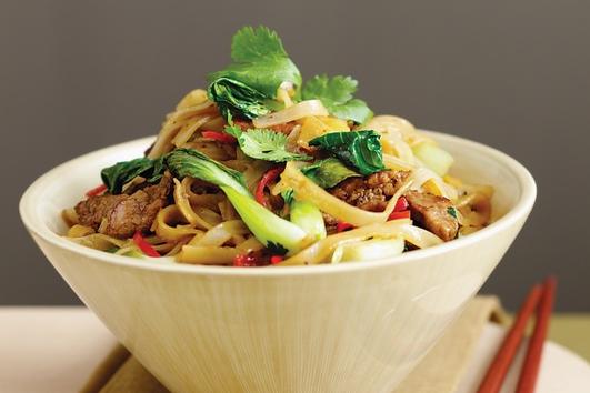 Neven's Recipes - Aromatic pork stir-fry with pak choy
