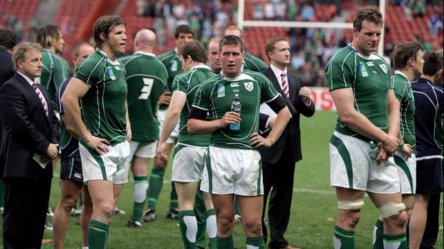 Ireland endured a disastrous World Cup in 2007