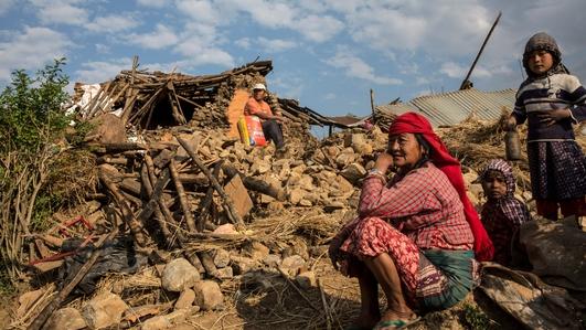 Teams assess damage in Kathmandu