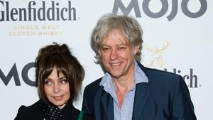 Jeanne Marine with Geldof