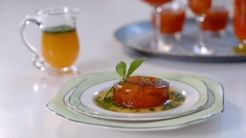 Blood Orange Jelly with Mint: Rory O'Connell