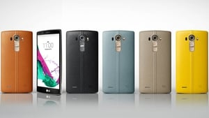 The G4 is available with a leather back in six different colours