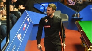 Judd Trump needed one frame to complete the win this morning