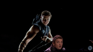 "Renner as Hawkeye - ""Maybe I'm as super as they are..."""