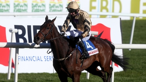 Bellshill ridden by P W Mullins wins the Attheraces.com Champion INH Flat Race