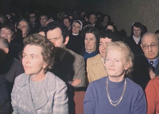 Audience at the All Ireland Drama Festival (1975)