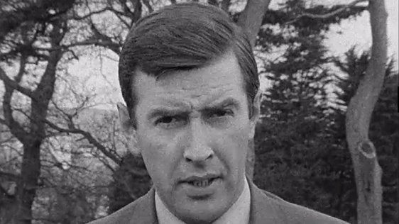 RTÉ News reporter Ronnie Turner reporting on 24 April, 1969.