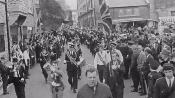 Riots Erupt at Apprentice Boys Parade on 12 August 1969