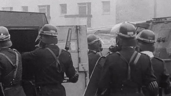 Derry Riots and Destruction