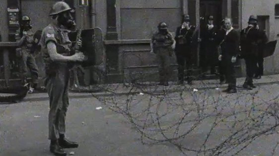 British Troops on Bogside 14 August 1969