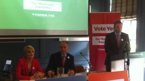 Micheál Martin said he was willing to take part in debates on the referendum