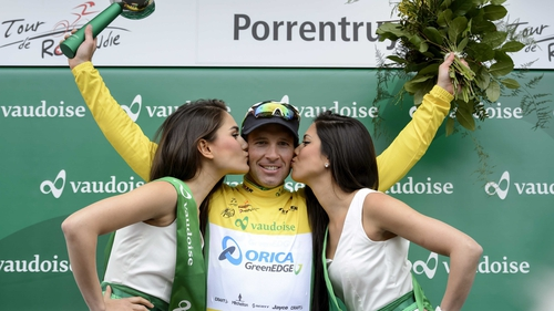 Michael Albasini won his second stage in two days