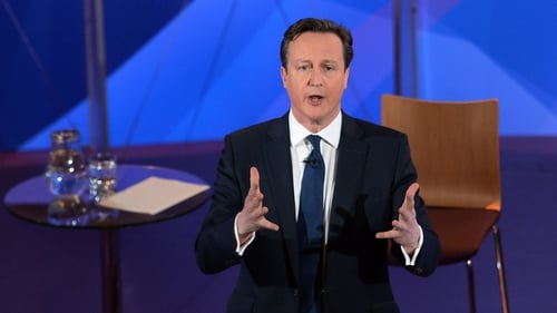 David Cameron faced questions about about his party's plans to cut welfare