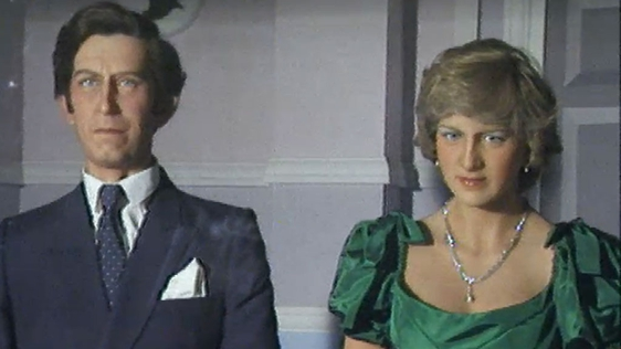 Charles and Diana Wax Works (1980)