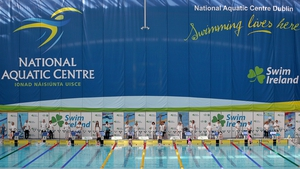 Visiting American swimmers dominated on the second day of the Irish Open Swimming Championships
