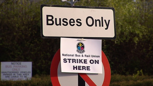 Bus Éireann and Dublin Bus last night told unions they will seek compensation for losses