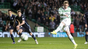 Celtic's Kris Commons totally freaked out after being substituted against Molde