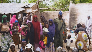 Hundreds of women and children have been freed this week by the Nigerian army