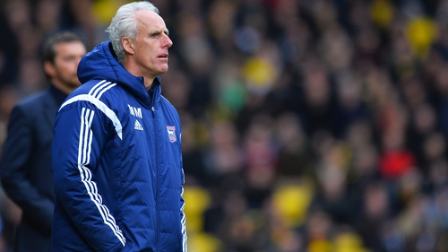 Mick McCarthy's Ipswich will face Norwich in the play-off semi-final