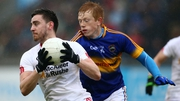 Tipperary's Josh Keane puts pressure on Padraig Hampsey of Tyrone