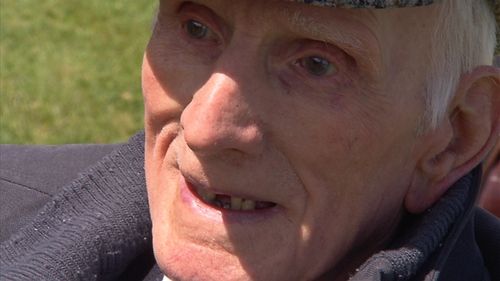 Phil Farrington left the Defence Forces to join the British Army during WWII