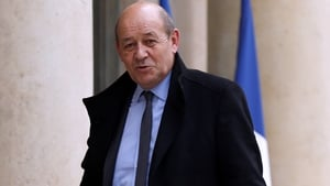 Jean-Yves Le Drian said he felt 'disgust' and 'betrayal' when he received a leaked report last year