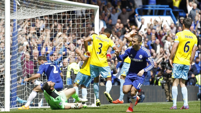 Chelsea crowned Champions after edging out Palace