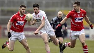 Sean Cavanagh in League action for Tyrone