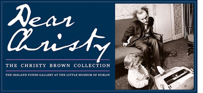 Christy Brown exhibition at Little Museum of Dublin