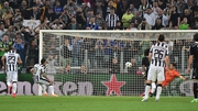 Carlos Tevez smashes home the winner for Juventus
