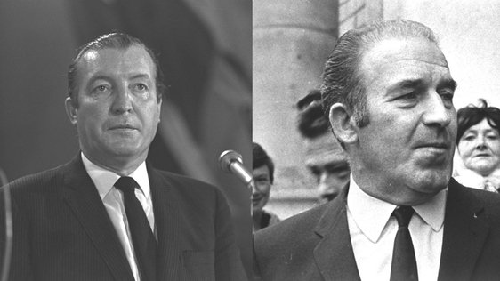 Charles Haughey and Neil Blaney (1970)