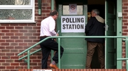 Polling stations opened at 7am and will close at 10pm