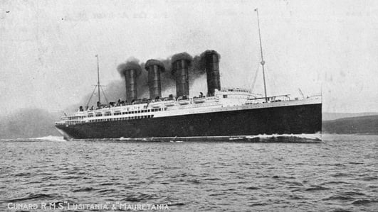 Art on the Lusitania