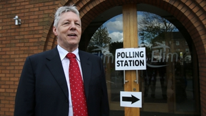 Peter Robinson underwent a procedure at Belfast's Royal Victoria Hospital earlier today
