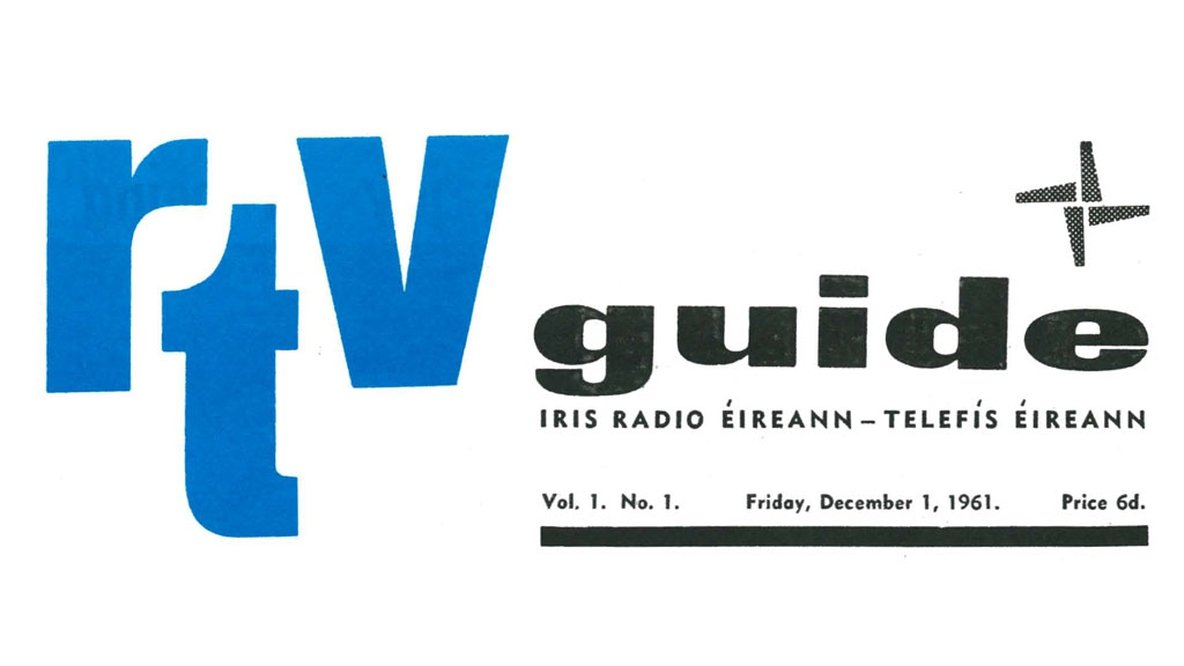 RTV Guide 1st Cover 1961