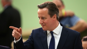 David Cameron's party won 37% of the vote but secured more than half the seats