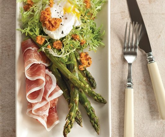 Neven's Recipes - Ham & egg salad with spring vegetables
