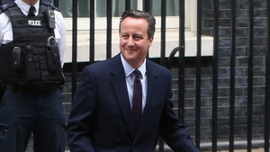 David Cameron is all smiles as his Conservative Party secures a parliamentary majority