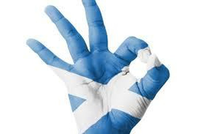 Scottish National Party Landslide Win