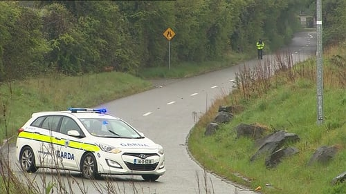 The baby was found alone and abandoned on Steelstown Road in Rathcoole