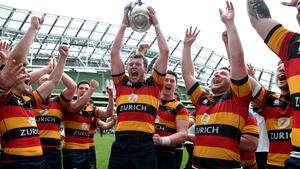 Lansdowne players celebrate winning