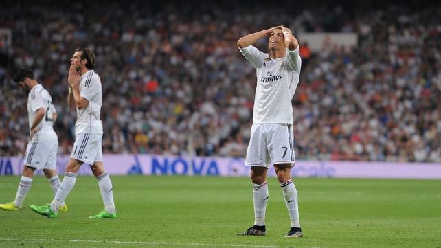 Cristiano Ronaldo was unimpressed with his team-mates