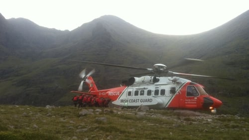 Members of the Kerry Mountain Rescue Team brought the woman to the bottom of the Devil's Ladder