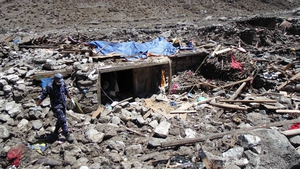 Langtang is one of the areas worst-hit by the earthquake