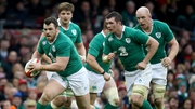 Cian Healy is recovering well from neck surgery and should be available for selection in the coming weeks