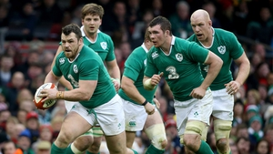 Cian Healy will be champing at the bit to get back playing for Ireland