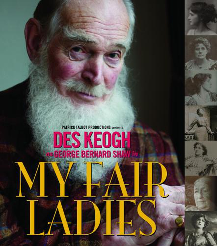 """My Fair Ladies"", a one-man show by Des Keogh"