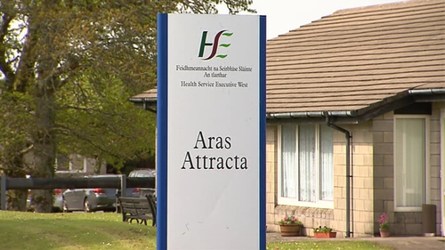 Mr Justice Peter Kelly said the woman suffered inhuman treatment at Áras Attracta